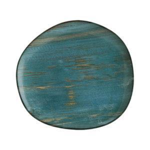 Plato Organico Madera 29 cm Vajilla Bonna