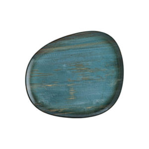 Plato Organico Madera 24 cm Bonna