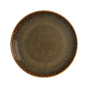 Plato Principal Ore Tierra 27 cm Vajilla Bonna
