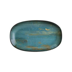 Bandeja Ovalada Mediana Madera 24 x 14 cm Vajilla Bonna