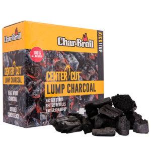 Carbón de Terrones de Corte Central Char Broil