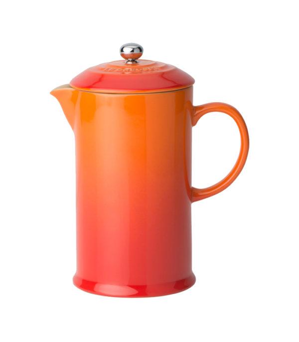 Cafetera con prensa Volcánico Le Creuset