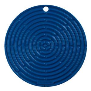 Portacaliente Redondo 20cm Azul Caribe Le Creuset