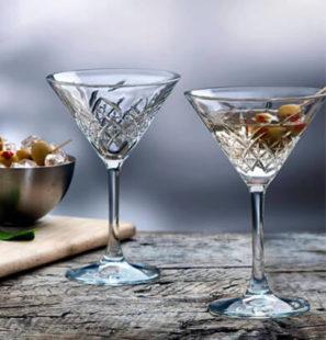 copa martini vidrio