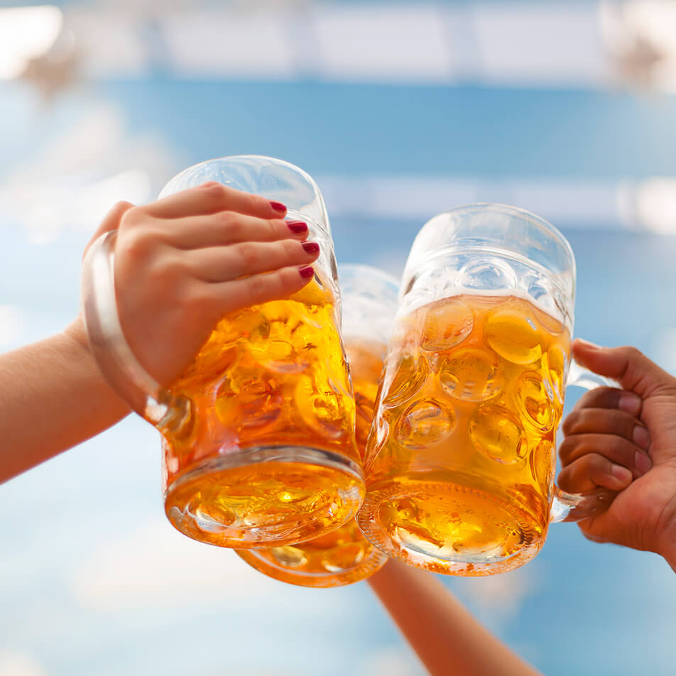 jarros Cerveza Libbey